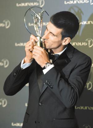 最佳男运动员奖   (塞尔维亚,网球)