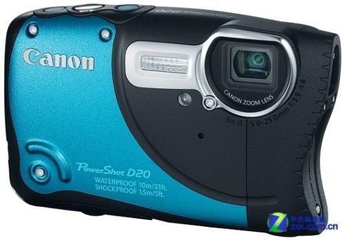 佳能PowerShot D20数码相机