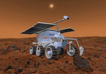 欧洲与俄罗斯欲联合探测火星 nasa不参与(图)图片