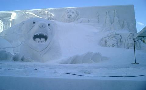 人民网2月9日电 札幌冰雪节(snowing festival) 是日本北海道札幌图片