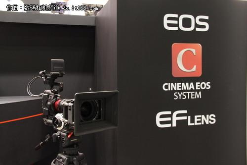 超35mm规格摄影机 佳能EOS C300亮相CP+