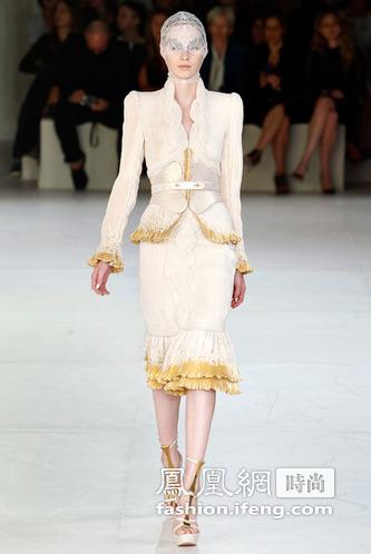 Alexander McQueen 2012 春夏高级成衣发布秀