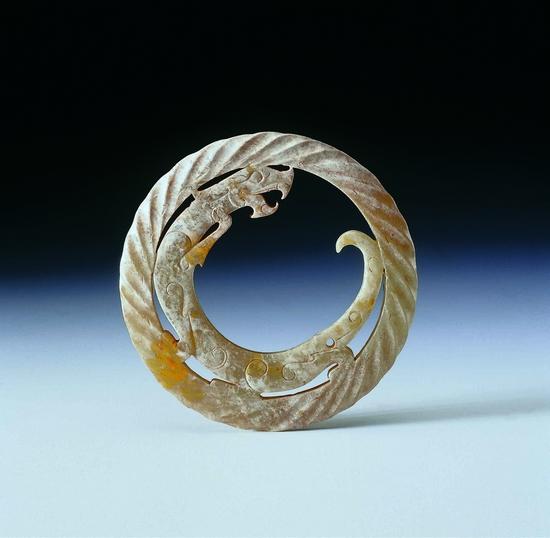 环�y..�h�9�._龙纹环(西汉早期)