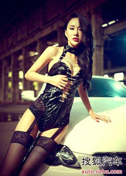 风情万种 性感美女车模极致演绎黑丝诱惑 搜狐