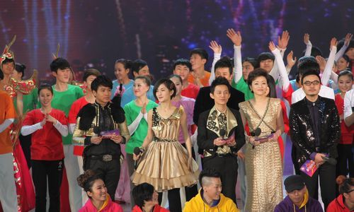 春节联欢晚会2012_2012湖南卫视春节联欢晚会.通讯员 摄