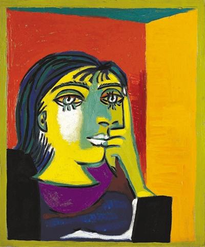 毕加索大展28日登陆成都 56幅作品展示一生创作(组图)