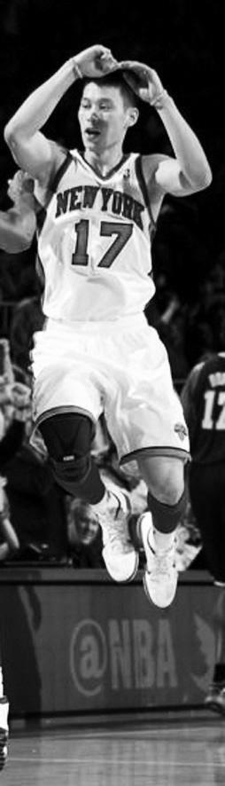 NBA常规赛 尼克斯 92∶85 湖人(独得38分的林书豪很可能当选东部周最佳)