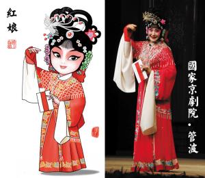 京剧红娘选段_剧照 的灰 摄   明天就是西方的情人节了,忍不住想念京剧《红娘》.
