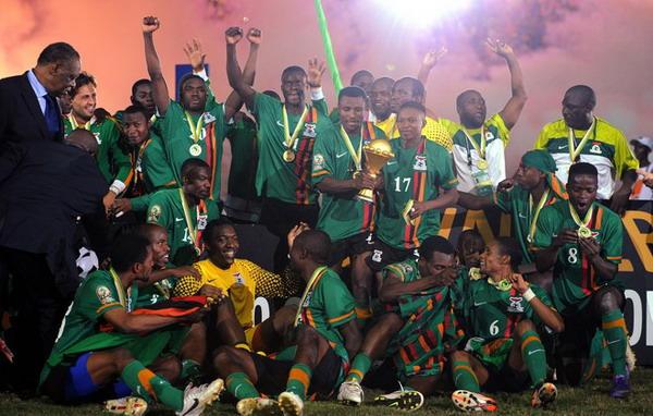 赞比亚夺冠
