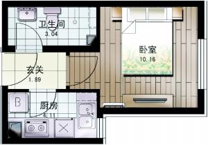 公租房设计图集将出台 40平米将满足生活所需