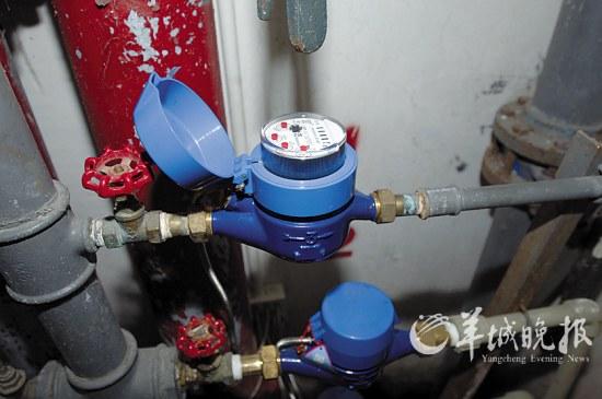 广州提前完成自来水计量家装改造五年计划(组图纸框系统图片