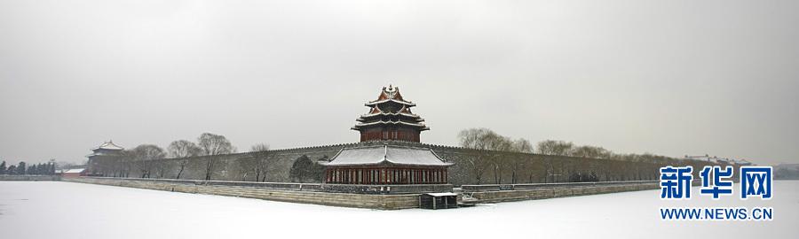 北京故宫春天景色