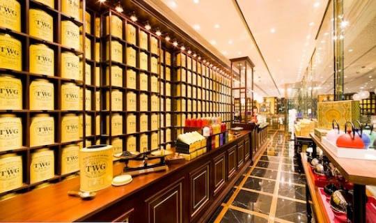 世界尊贵茗茶品牌TWG Tea香港首间TWG Tea Salon & Boutique 近日于国际金融中心商场(ifc Mall)正式登陆