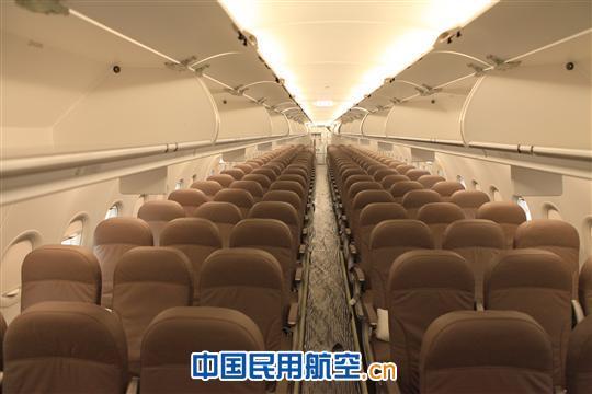 情人节 成航第一架全新空客320飞机满载祝福首航(组图图片