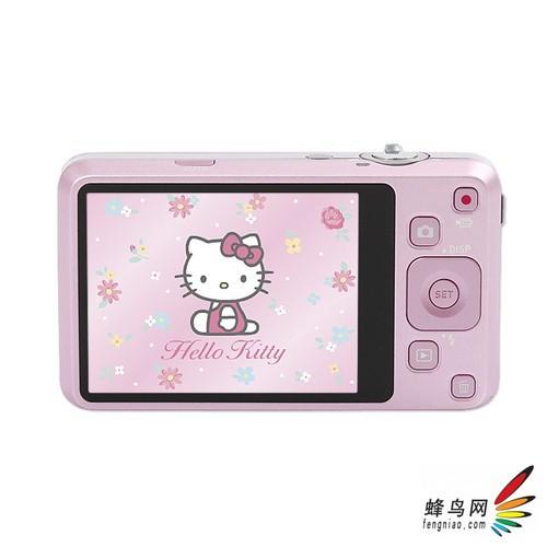 卡西欧新版Hello Kitty主题数码相机