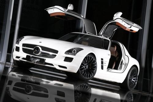 日前,来自的德国的改装商 Inden Design 发布了他们的Mercedes-Benz SLS AMG 的改装作品。
