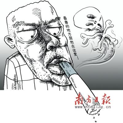 香烟简笔画-香烟滤嘴确实有害 烟草业使用聚丙烯非秘闻