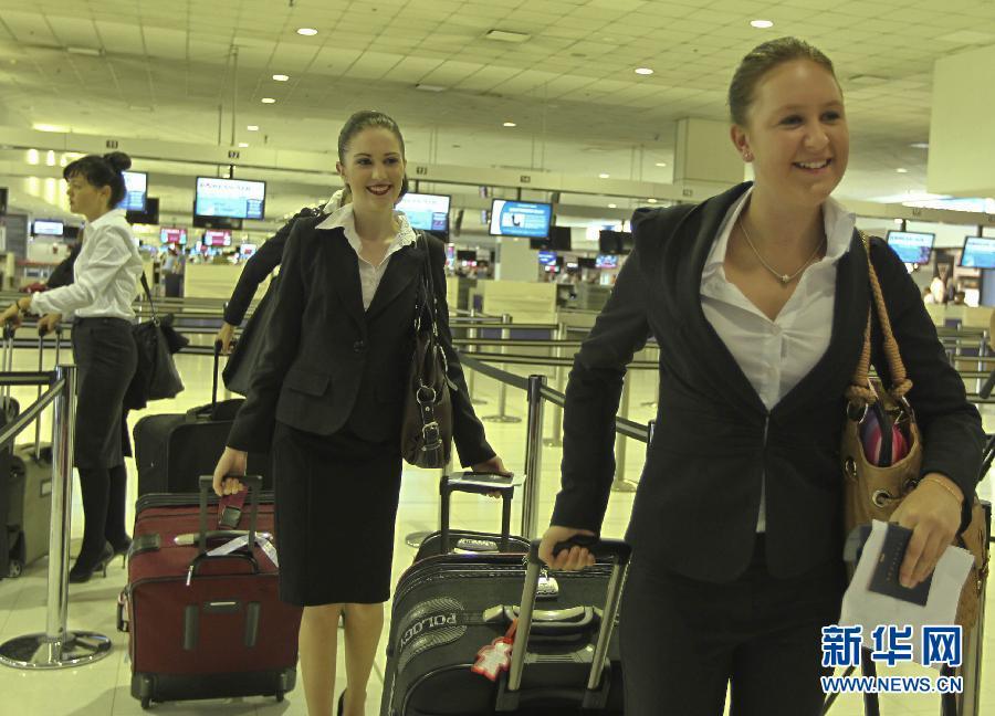 南航招聘首批澳大利亚籍空姐图片