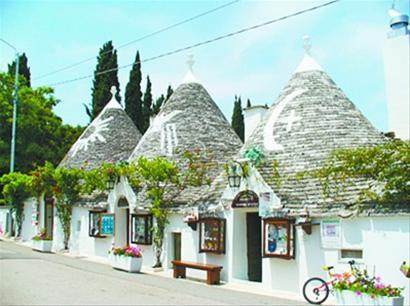 整个大区广植橄榄树,在地中海强烈的阳光下