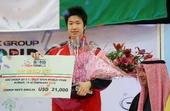 图文:乒联巡回赛科威特赛 水谷隼获男单冠军