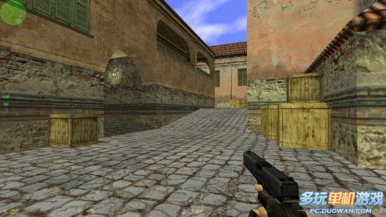 aztec宽敞的平台上对狙击手的考验更为复杂,所以了解地图才能保证你在图片