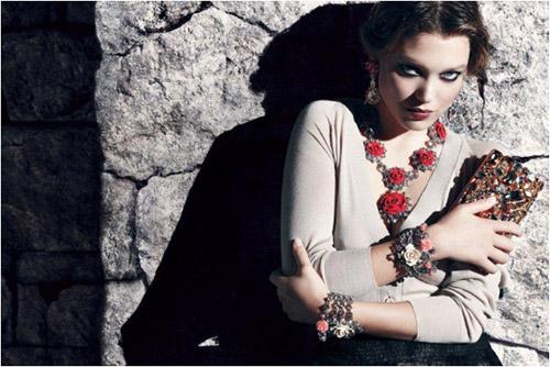 蕾雅·赛杜拍摄的Prada 2012年女装早春广告大片
