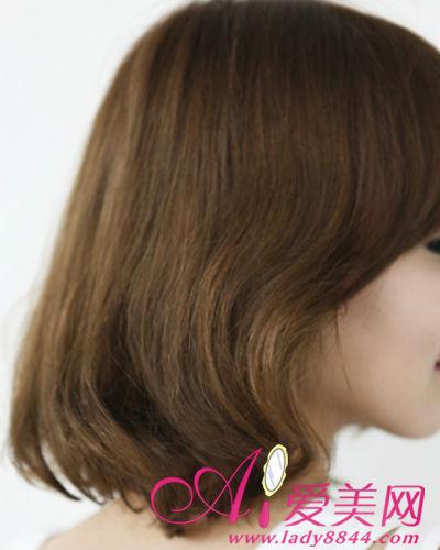 短发的烫发电发
