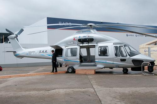 参加试飞的EC-175直升机(资料图)