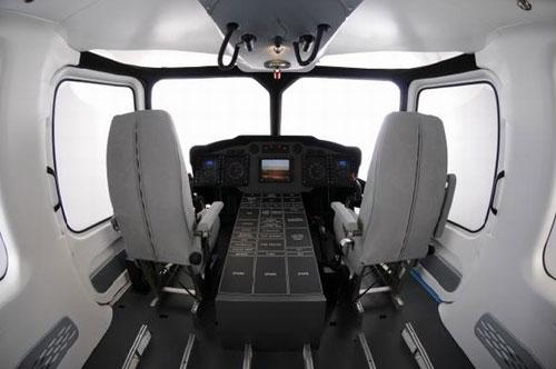 EC-175的驾驶舱(资料图)