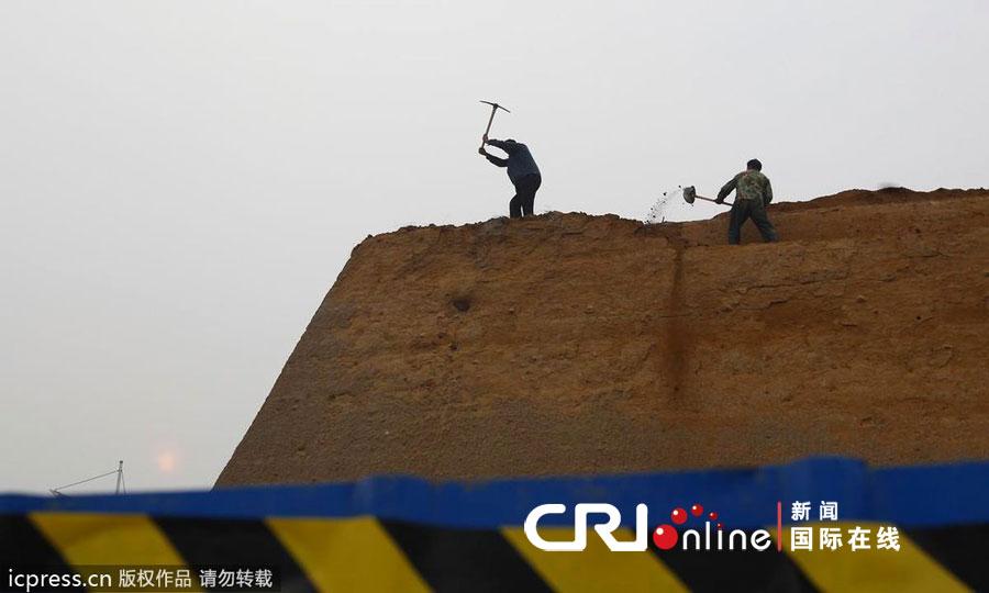 郑州商城遗址被指 破坏性改造 高清组图