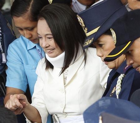 菲律宾前总统阿罗约夫人2月23日出席庭审