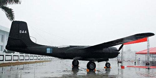"""复制版""""黑蝙蝠""""B-26侦察机 台湾《联合晚报》"""