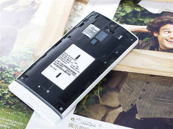 索尼LT26i不可更换电池