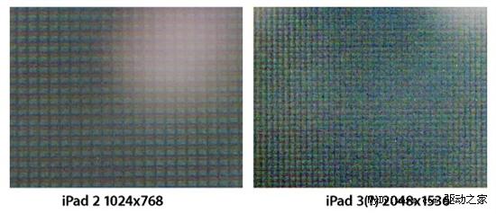 屏幕连接线:左为Pad 2 、右iPad 3
