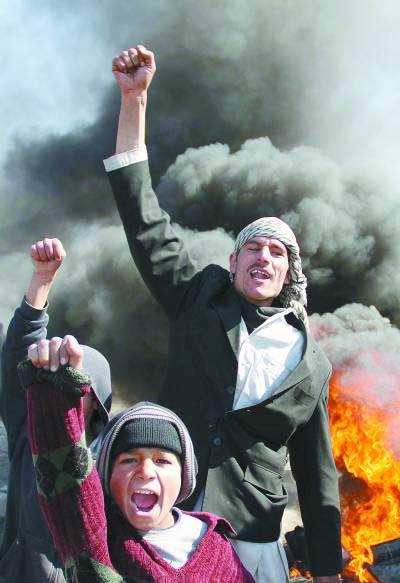 美军焚烧古兰经引抗议 塔利班或重新控制阿富