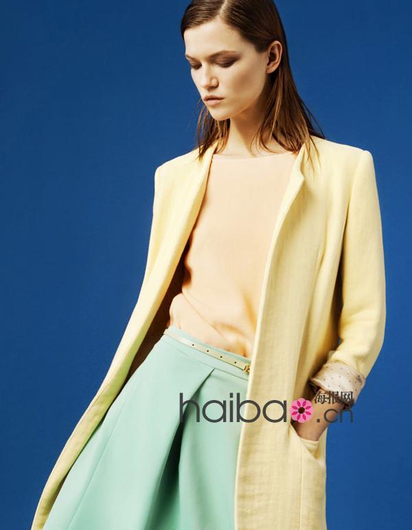 """极简线条""""勾勒""""的时尚符号!Zara 2012年3月女装Lookbook,超模卡莎·斯图拉斯 (Kasia Struss) 演绎"""