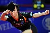 图文:乒乓球亚锦赛男团决赛 松平健太在比赛中