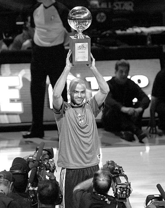 NBA全明星赛 技巧挑战赛帕克获胜