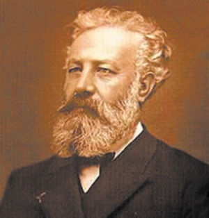科幻作家儒勒 凡尔纳