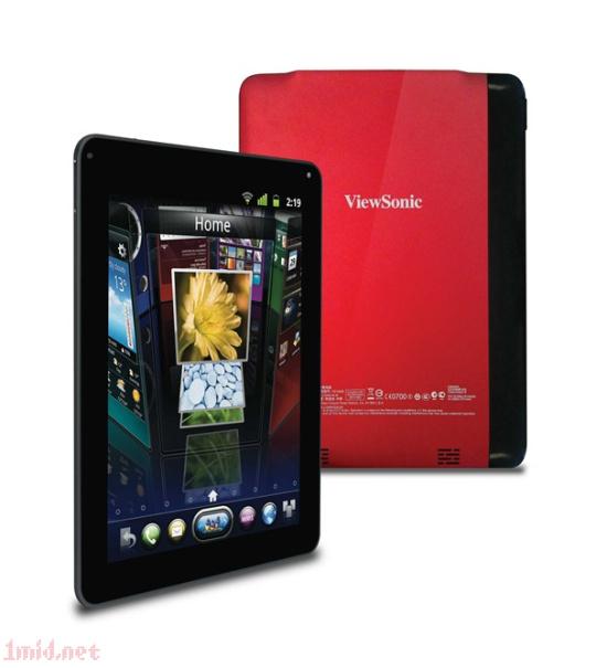 ViewPad E100 优派在MWC连发三款新品平板G70/E100/P100