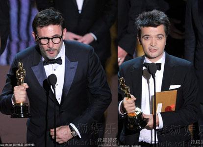《艺术家》夺得份量最重的最佳导演、最佳影片两项大奖