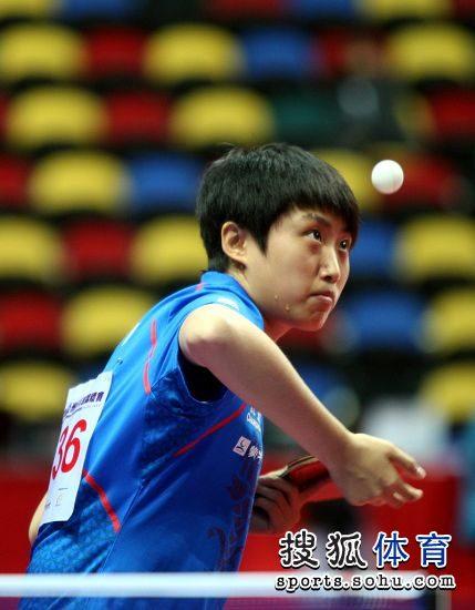 柔道:[乒乓球]亚锦赛单项赛郭跃发球也流汗-搜狐功夫新图文旋风儿体育图片