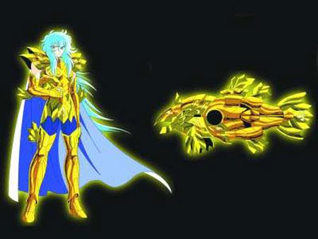 双鱼座黄金圣斗士-阿布罗迪-新 圣斗士星矢 来了