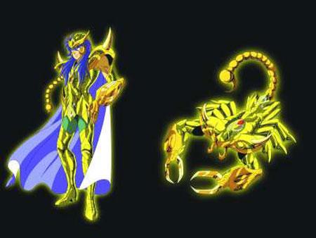 天蝎座黄金圣斗士-米罗