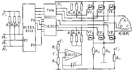 位置传感器   位置传感器在直流无刷电动机中起着测定转子磁极位置的作用,为逻辑开关电路提供正确的换相信息,即将转子磁钢磁极的位置信号转换成电信号,然后去控制定子绕组换相。位置传感器种类较多,且各具特点。在直流无刷电动机中常见的位置传感器有以下几种:电磁式位置传感器、光电式位置传感器、磁敏式位置接近传感器。   电磁式位置传感器在直流无刷电动机中,用得较多的是开口变压器。用于三相直流无刷电动机的开口变压器由定子和跟踪转子两部分组成。定子一般有六个极,它们之间的间隔分别为60度,其中三个极上绕一次绕组,并