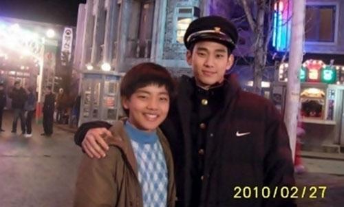 """拥抱太阳的月亮》中的两位""""月亮之男""""吕珍九和金秀炫两年前"""
