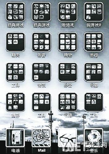 好看的苹果桌面手机分组_手机桌面苹果分组iphone6a苹果怎么玩图片
