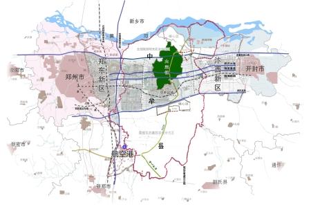 郑州规划局最新规划图图片