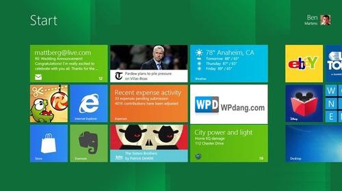 Windows 8支持Metro UI界面