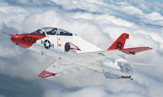 �t_美空军新一代高级教练机t-x推迟 5公司竞标(图)